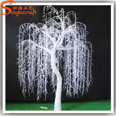 a wide range of artificial light up cherry trees