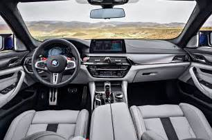 Bmw M5 Interior 2018 Bmw M5 Look Review Motor Trend