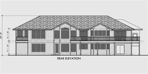 4 garage house plans sprawling ranch daylight basement great room rec room 4 car