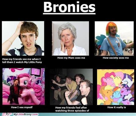 Bronies Meme - how people see bronies mlp fim pinterest the o jays mom and girls