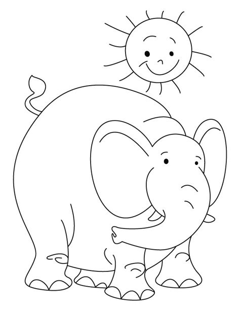 elephant mask coloring pages free elephant mask coloring pages