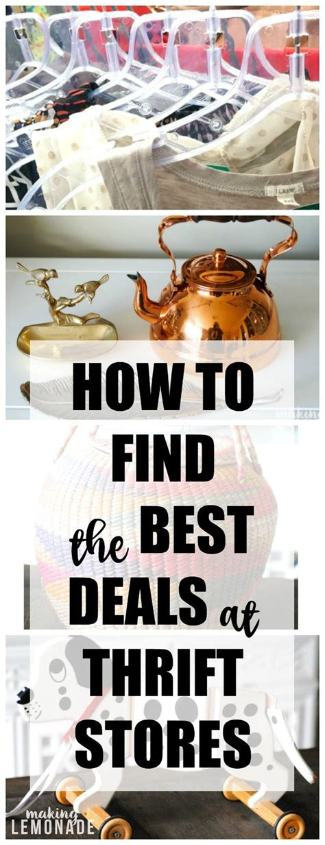 best deals on home decor a pro thrift store shopper spills her secrets on scoring