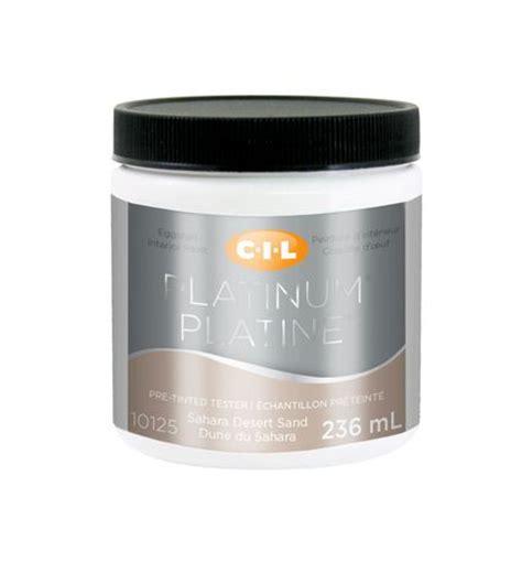cil 174 platinum 174 interior paint tester pre tinted sand 236 ml walmart ca