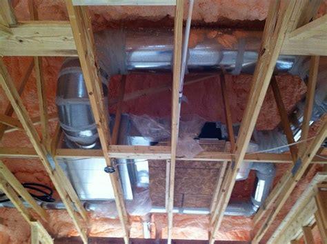 mitsubishi ducted mini split what do ducted mini splits look like home energy pros forum
