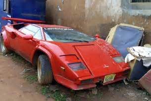 Used Cars For Sale In Usa To Nigeria N200million Lamborghini Countach Abandoned In Lagos Car