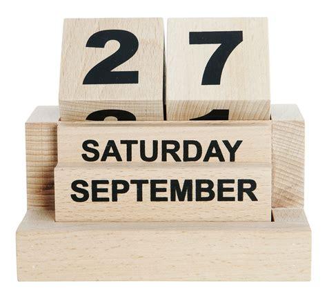design ewiger kalender eternity holz house doctor ewiger kalender