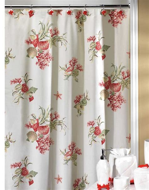 Designer Shower Curtains Decorating Chic Design Coral Shower Curtain Interior Exterior Homie Decorate Your Bathroom Small With