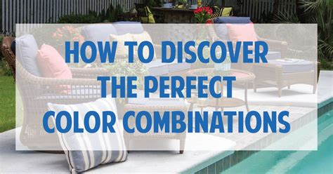 perfect color combinations how to discover the perfect color combinations cushion