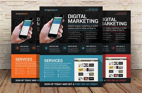 marketing flyer templates best solutions of digital marketing flyer photos graphics