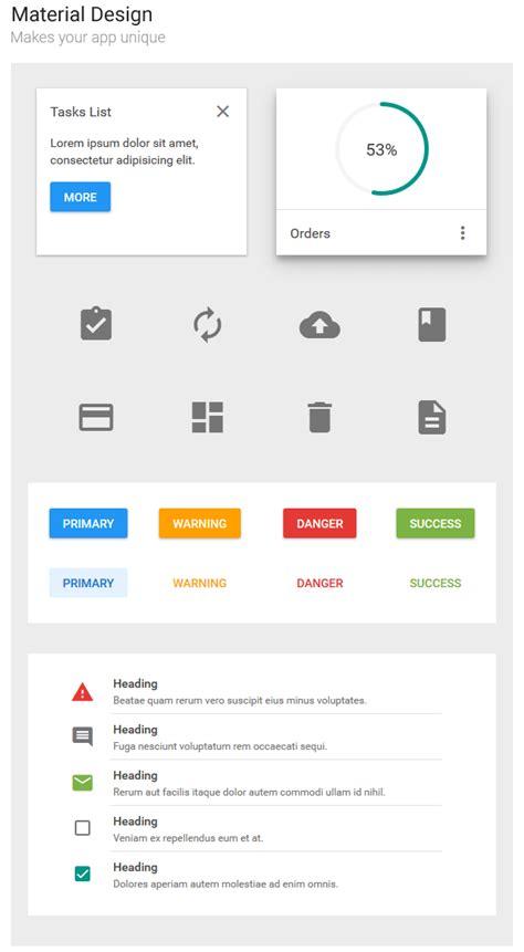 Material Design Html Editor | altair admin material design premium template site