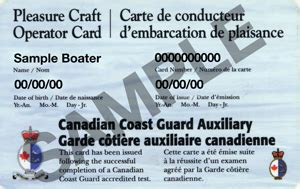 boating license requirements bc pcoc the pleasure craft operator card canadian boat