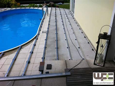 wpc poolumrandung bilder wpc aluminium alu unterkonstruktion f 252 r