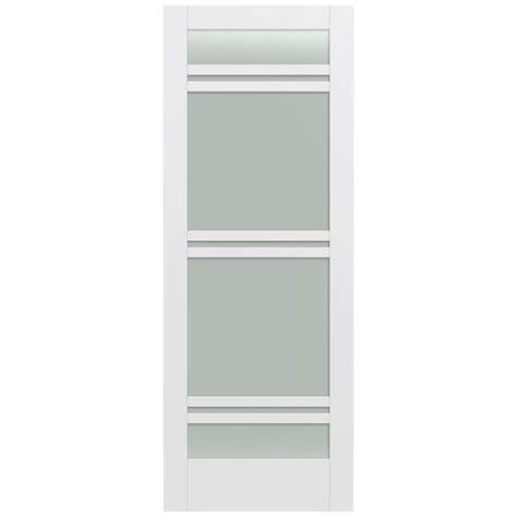 Jeld Wen 36 In X 96 In Moda Primed White 7 Lite Solid 36 X 96 Interior Door