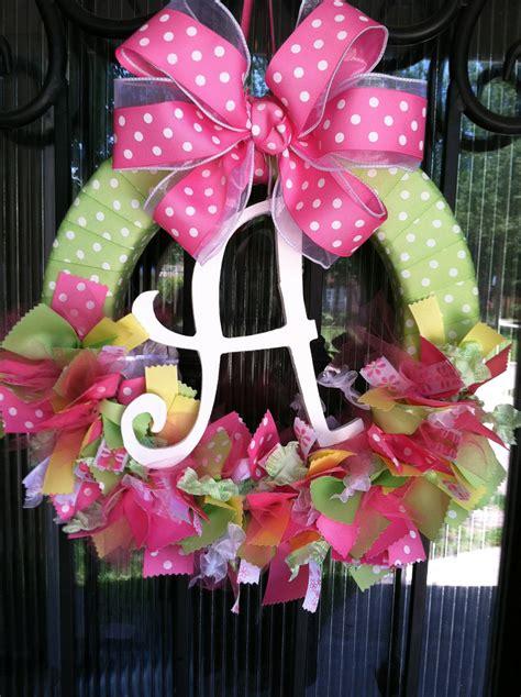 Baby Shower Door Decorations Baby Ribbon Wreath Nursery Hospital Door Baby Shower By Joowabean