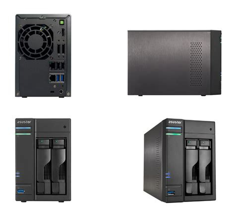 Asustor As 5002t asustor as 5002t 2 bay nas as 5002t pc gear