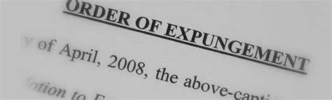 Can Arrest Records Be Expunged Expungement Of And Court Records Goff Voltin
