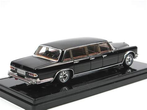 6 Door Mercedes by Tsm 1965 Mercedes 600 6 Door Pullman Black 1 43 Resine