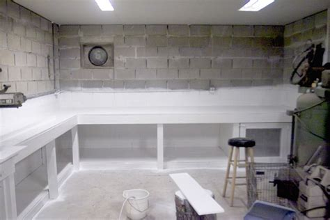 Steel And Wood Bookcase by Wooden Basement Workbench Ideas Plans Pdf Download Free