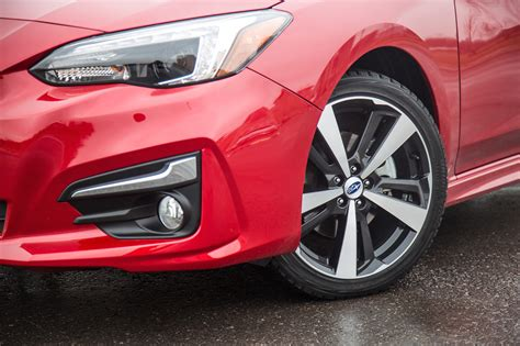 2017 subaru impreza wheels review 2017 subaru impreza sport tech canadian auto review