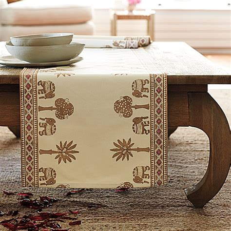 Dining Room Table Cover by Elephant Mombasa Table Runner Design