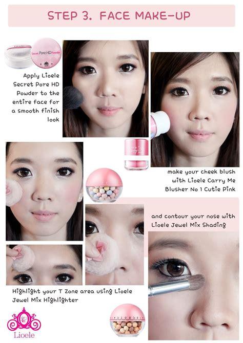 tutorial eyeshadow indonesia tutorial coffee shop girl makeup by lioele official