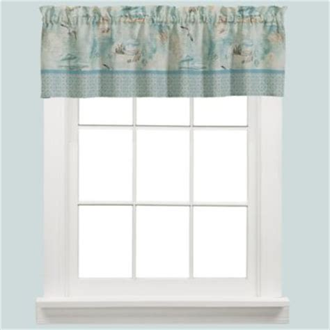 beach themed curtains and valances buy beach valances from bed bath beyond