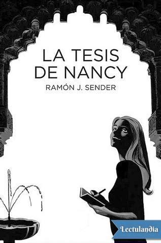 la tesis de nancy 8483432749 biblioteca del ies sierra sur valdepe 241 as de ja 233 n octubre 2015