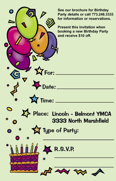 Birthday Invitation Cards Sles Invitation Card For Birthday Party Invitation Ideas