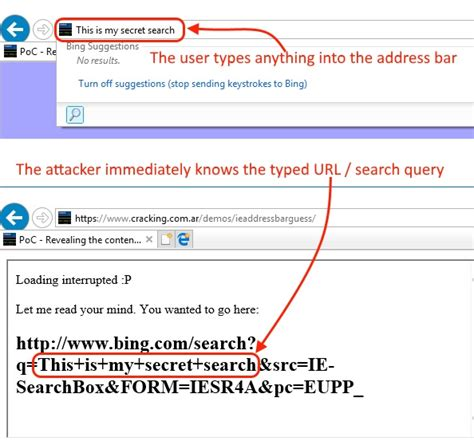 list url bug videomax internet explorer bug leaks whatever you type in the