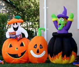 Blow Up Halloween Decorations Yard Halloween Yard Decorations Picture Free Photograph