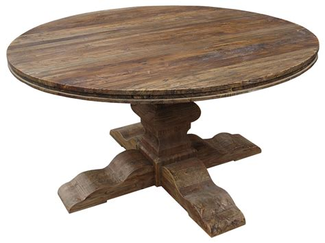 Elm 60 Quot Round Dining Table Roundtable Or Table