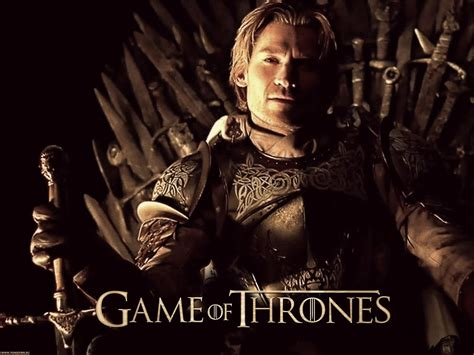 Of Thrones Lannister of thrones with the king slayer jaime