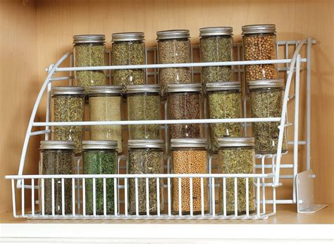 spice organizers for kitchen cabinets spice cabinet organizer bed bath and beyond home design