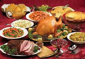 picture of a thanksgiving feast best restaurants for thanksgiving in the inland empire