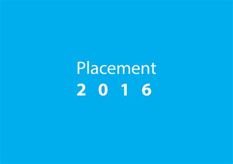 Kiit Mba Placement 2016 by Placement Statistics For The 2016 Passing Batch Kiit