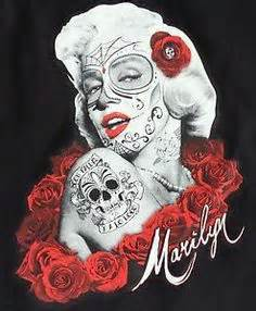 marilyn monroe day of the dead tattoo marilyn day of the dead girly i