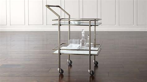 renee bar cart reviews crate  barrel