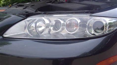 2005 Mazda 6 Engine Lights Youtube