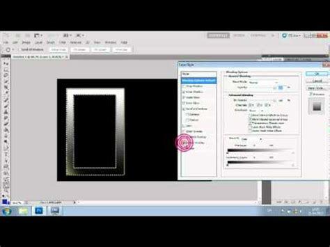 tutorial photoshop frame photoshop frame tutorial cs5 youtube