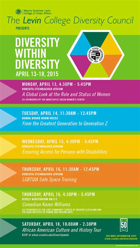 Columbia Mba Diversity Events by Special Events Planned For Levin College Diversity Week