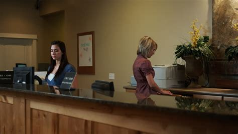 doctor s office front desk jobs 20 seconds or greater stock footage video shutterstock