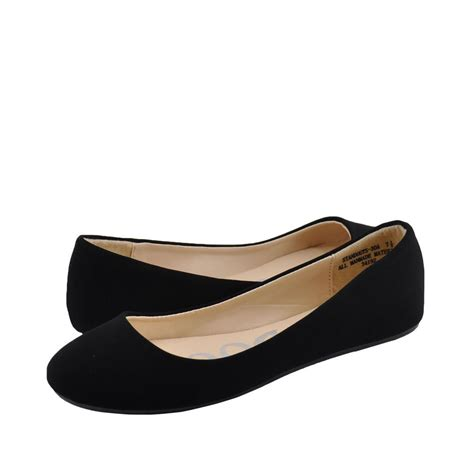 flat black shoe s shoes bamboo standouts 30 toe ballet flats