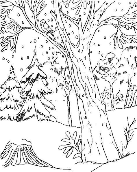 dibujos colorear invierno az dibujos colorear