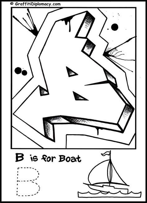 coloring pages of graffiti alphabet graffiti alphabet coloring page free printable graffiti