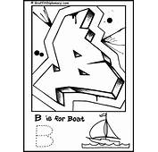 Free Graffiti Spray Cans Coloring Pages