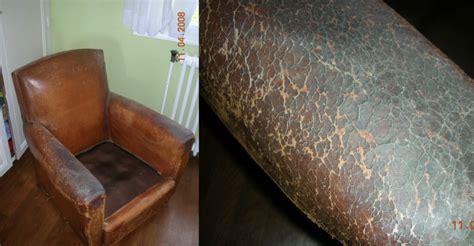restauration fauteuil club en cuir
