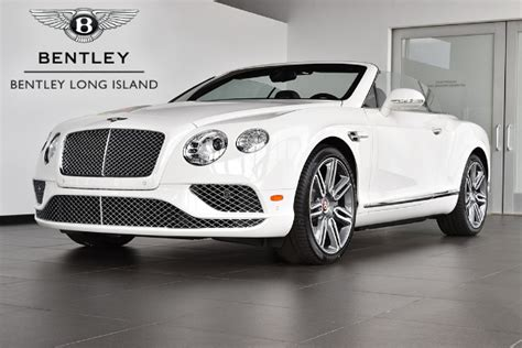 2017 white bentley convertible 2017 bentley continental gt v8 convertible v8 mulliner