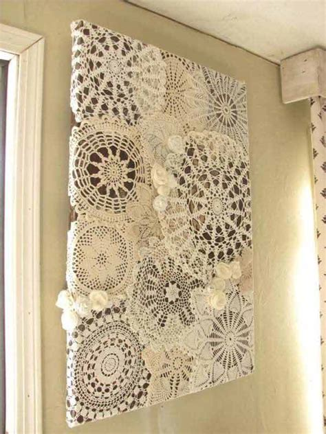 lace home decor 20 great diy ideas for decorating with lace 17 diy and