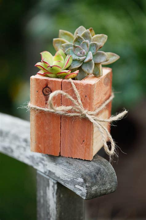 Planter Centerpieces by Set Of 4 3x3 Succulent Planter Box Redwood Great