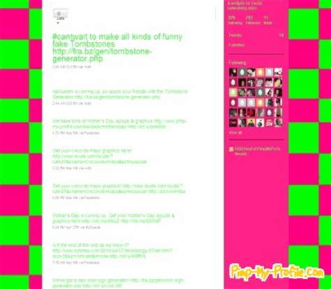 twitter layout checker lime green hot pink checkers twitter backgrounds pimp